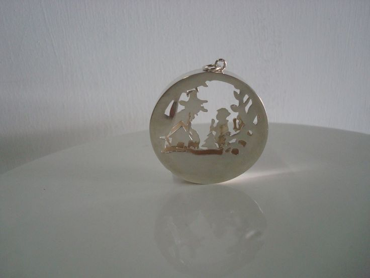 HANSEL AND GRETEL, SILVER 950, 3D