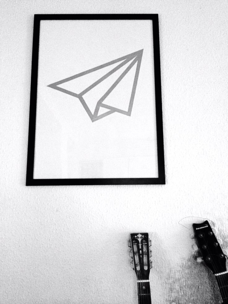 Paper airplane...