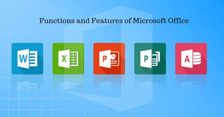 Functions and features of microsoft office contactinfos