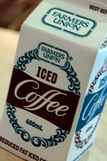 'Farmers Union Iced Coffee' • only in Adelaide city • Adelaide's icons