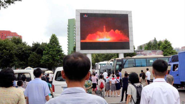 O míssil, cujo tipo ainda não foi identificado, caiu em águas da Zona Econômica Exclusiva (ZEE) do Japão, conforme anunciou o Ministério de Defesa japonês