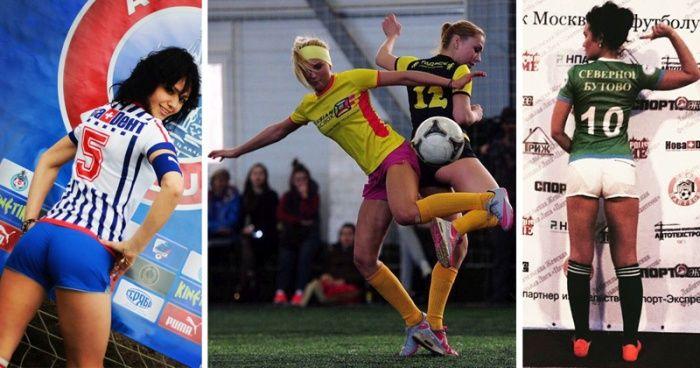 #интересное  Женский футбол во всей красе (24 фото)   Сегодня мы хотим продемонстрировать вам небольшую подборку фотографий женского любительского футбола, которые вам точно придутся по душе. В продолжении поста действительно есть, на что посмотреть. Приятного �