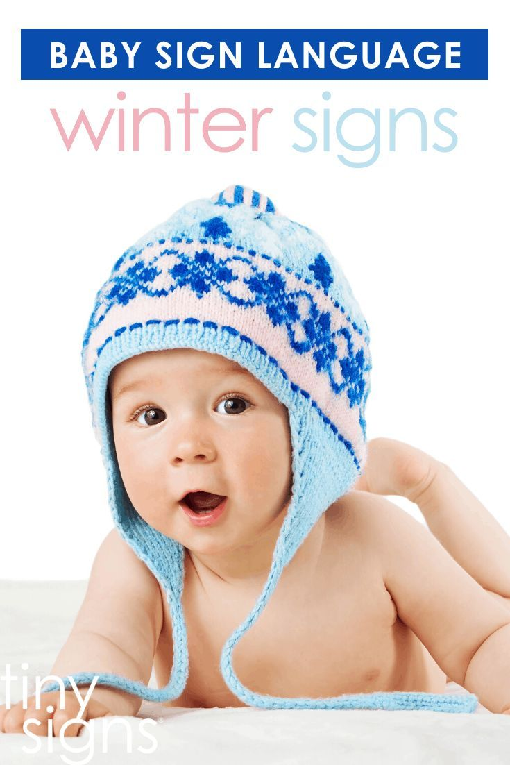 Baby Sign Language Winter Theme Tiny Signs Baby Signs Baby Sign Language Baby Sign Language Video