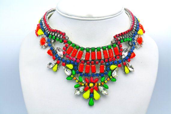 Neon Necklace -to order at Doloris Petunia