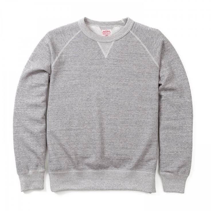 Joe McCoy 10oz Sweatshirt - Grey - SWEATERS - CATEGORIES - Superdenim