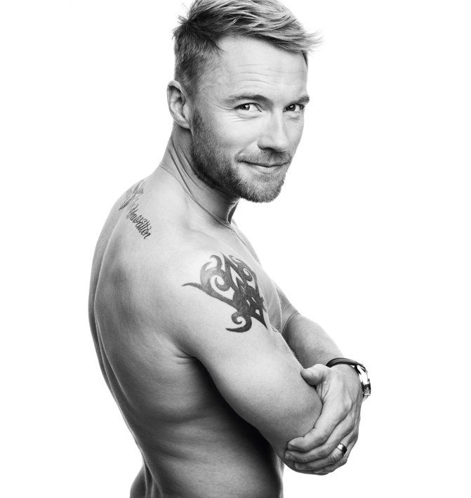 Ronan Keating turns 38 years old today (March 3), so we thought we would take a look at some of the singer's hottest moments, which include his photoshoot in Attitude Active's April 2010 issue.