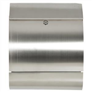 Mailbox Stainless Steel Locking Mail Box Letterbox Postal Box Modern Design New