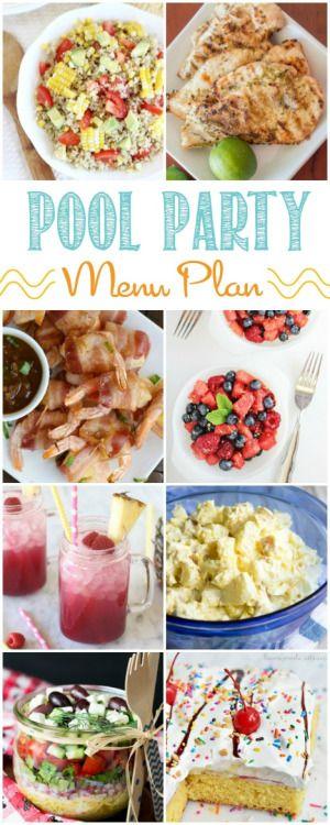Pool Party MenuReally nice recipes. Every hour.Show me what you  Mein Blog: Alles rund um die Themen Genuss & Geschmack  Kochen Backen Braten Vorspeisen Hauptgerichte und Desserts