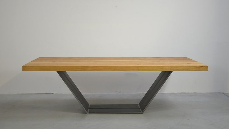 die besten 17 ideen zu tischgestell stahl auf pinterest tischbeine stahl eichentisch und. Black Bedroom Furniture Sets. Home Design Ideas