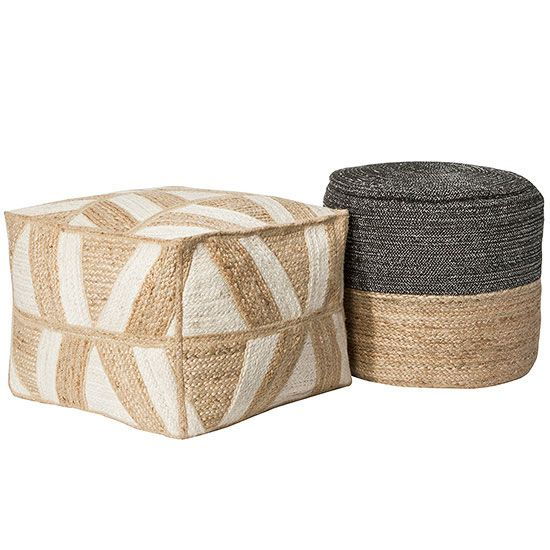 Target Dorm Decor We Wouldn't Mind Having in Our Own Homes - braided pouf