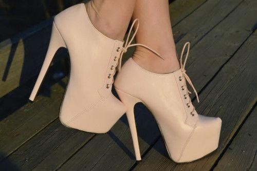 Adorable nude shoesKillers Heels, Nude Shoes, Ankle Boots, Dresses Shoes, Highheels, Fashion Heels, Nude Heels, Lace Up Heels, High Heels