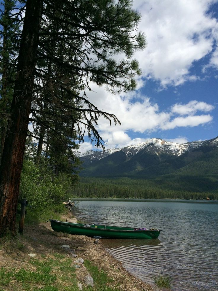 Holland Lake, Montana Road Trip