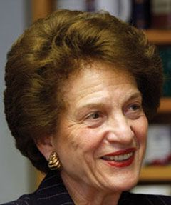 Judith S. Kaye, former Chief Judge of the New York State Court of Appeals, is the 2015 recipient of the Distinction in International Law and Affairs Award, given by the New York State Bar Association's International Section.