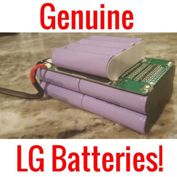 "I KNOW ALL YOU ""DO-IT-YOURSELF"" E-BIKE AND POWERWALL BUILDERS OUT THERE ARE LOOKING FOR AFFORDABLE AND HIGH QUALITY 18650 CELLS. THIS IS PERFECT FOR YOU. GENUINE LG 2200MAH (MORE LIKE 2270MAH - 2310MAH) BATTERIES. 