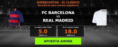 el forero jrvm y todos los bonos de deportes: 888sport supercuota clasico Barcelona vs Real Madr...