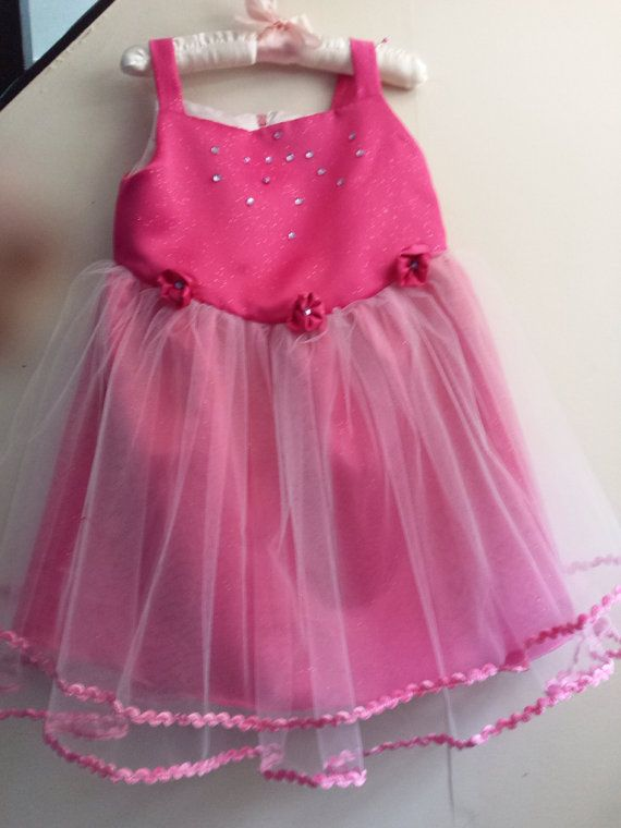 Pink Party Dress by LindasWear on Etsy, $40.00