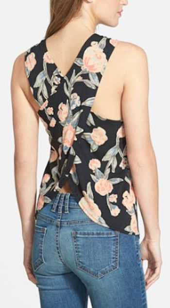 cute floral jersey back tank http://rstyle.me/n/ww7ymr9te