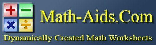 Math Aid Work Sheet Generator