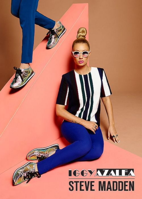 Iggy Azalea for Steve Madden & Iggy Azalea Shoe Collection Campaign