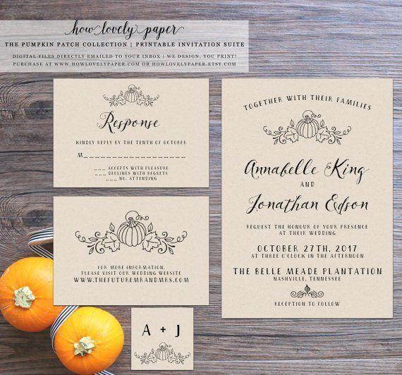 20 Perfect Fall Wedding Invitations795 best Rustic Wedding Invitations images on Pinterest   Rustic  . Nashville Wedding Invitations. Home Design Ideas