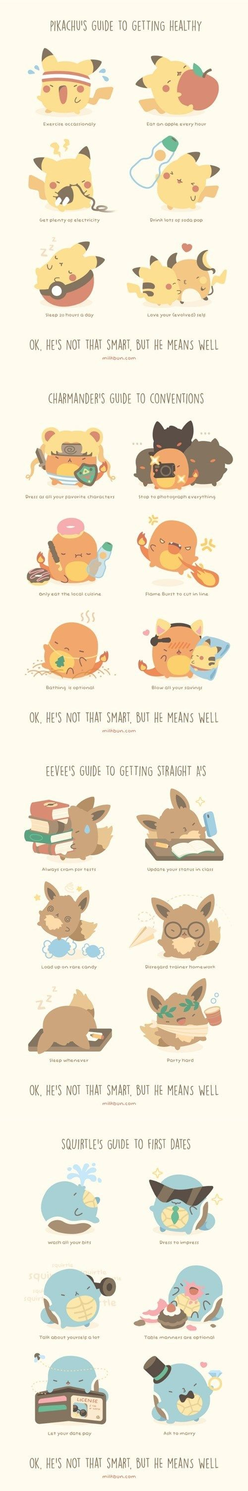 Pokémon Guides to Everyday Things