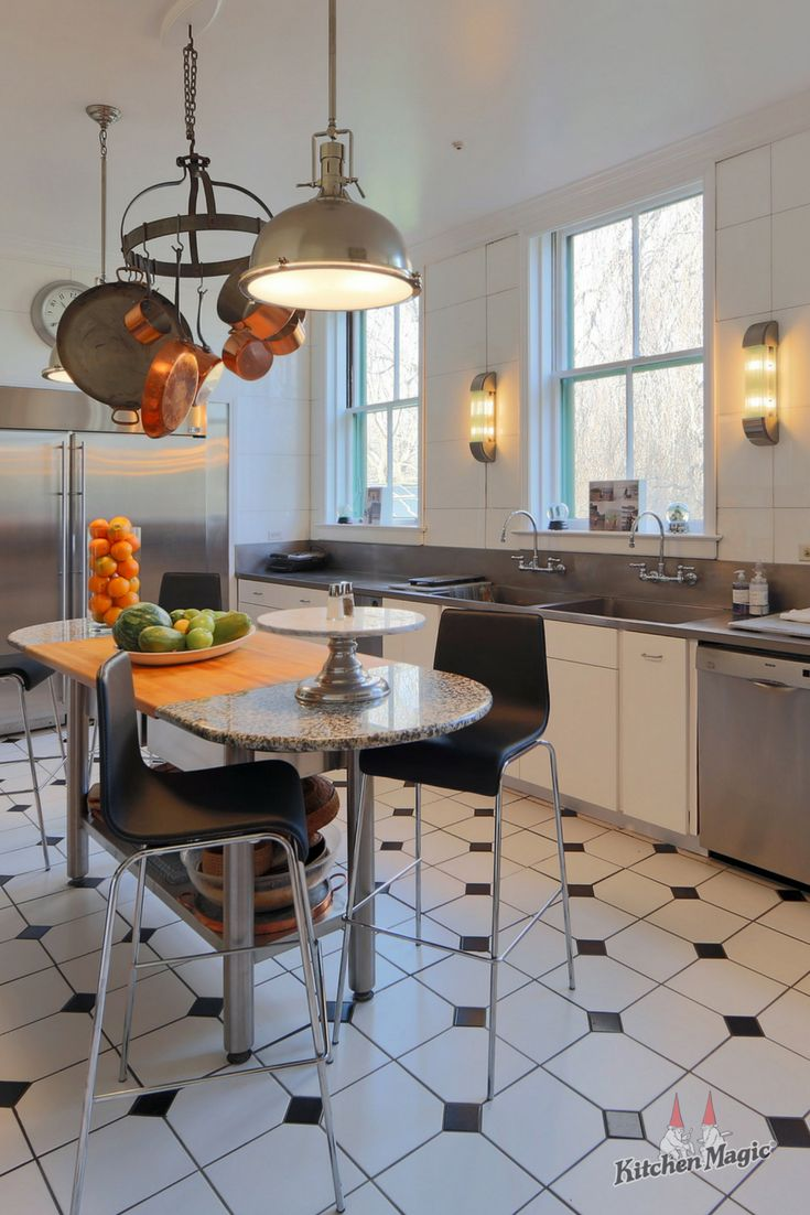Fresh Clean And Modern Yep We Can Do That Too Whatever Your Kitchen Style May Be We Ha Contemporary Kitchen Design Kitchen Flooring Modern Kitchen
