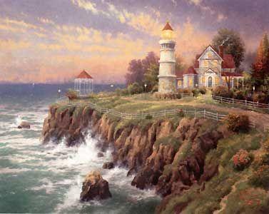Victorian Light - Thomas Kinkade - World-Wide-Art.com - $960.00 #Kinkade