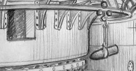 HMVS Cerberus. shell transporter