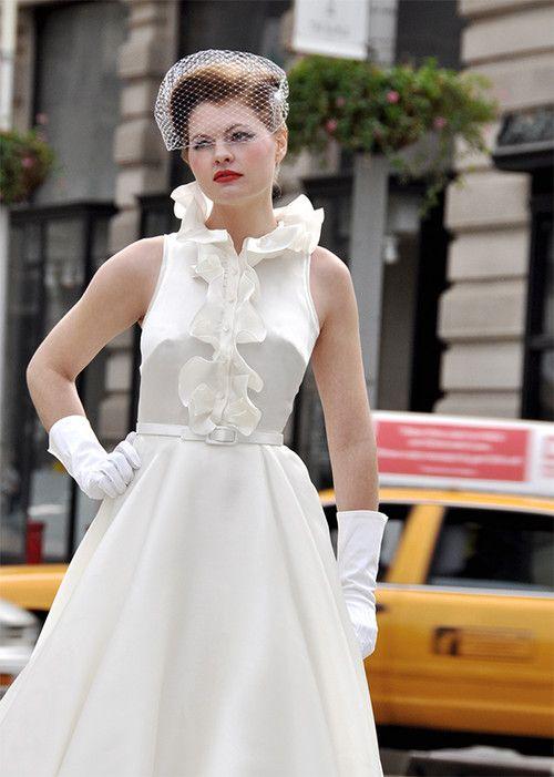 66 best Fancy Bridal Vintage Style Wedding Dresses images on ...