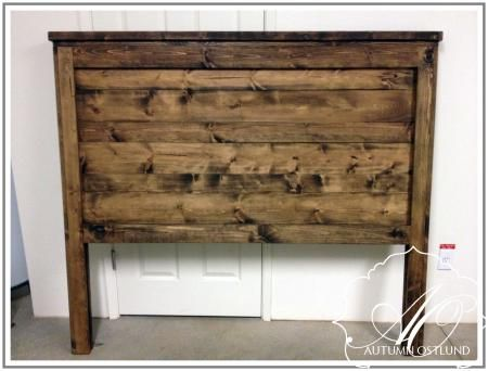 Planked headboard | Do It Yourself Home Projects from Ana-White.com: