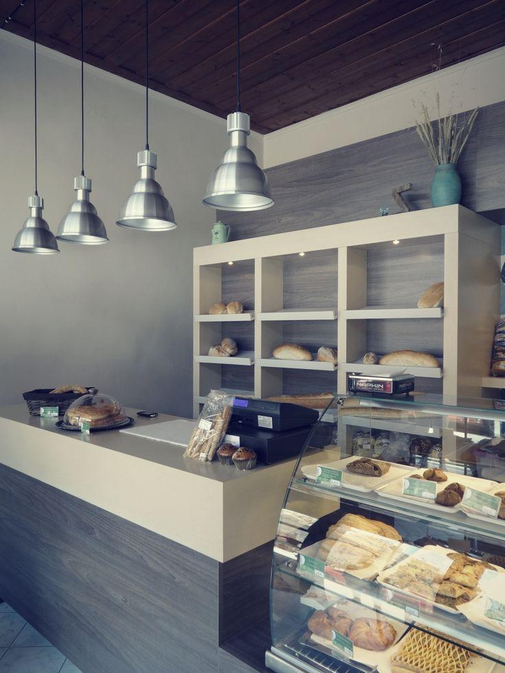 """Bakery shop """"Το Αρτοπωλείον"""" by Z-architects."""