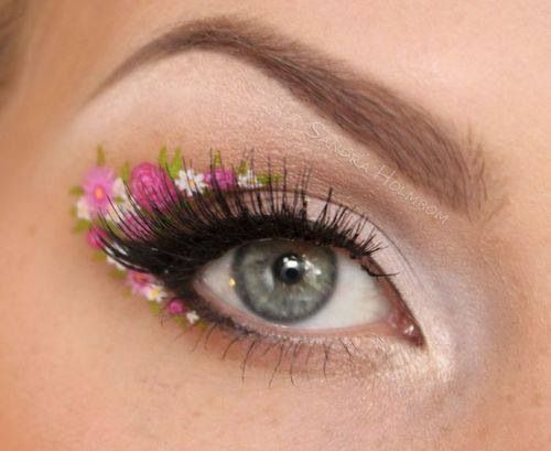 Flowers - fairy makeup