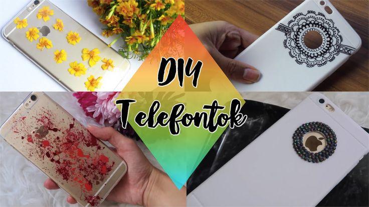 DIY Kreatív Telefontokok | Viszkok Fruzsi