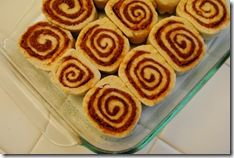 BEST Recipe for home made Cinnamon Rolls WITHOUT using yeast! I didn't have baking powder nor did i have enough butter or confection sugar and the recipe still came out fantastic.