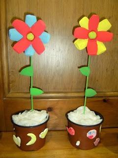 Test amb flor 3 a 4 anys
