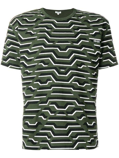 5d0b2abc Kenzo Printed T-shirt - Farfetch | Men fashion | Kenzo, Mens tops ...