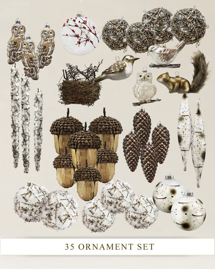24 Best Images About Woodland Ornament On Pinterest