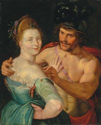 Hendrick Goltzius (Mülbracht 1558-1617 Haarlem) Mars and Venus