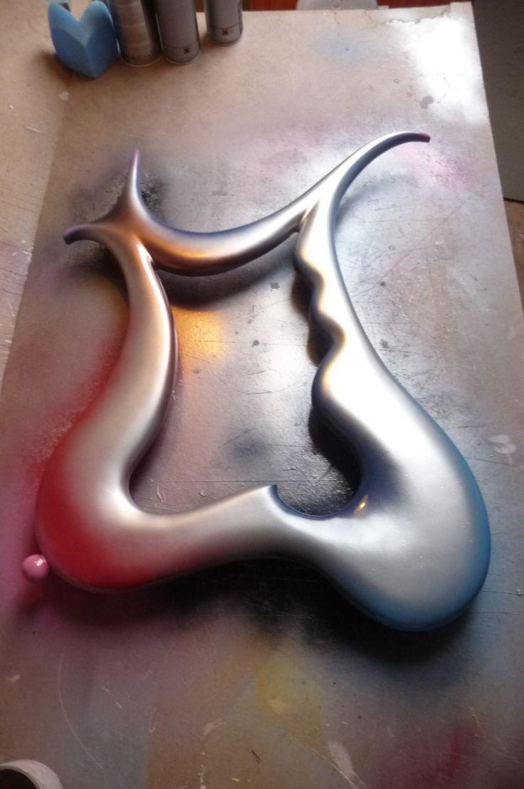 MODERN WALL ART MIRROR = THE DALI