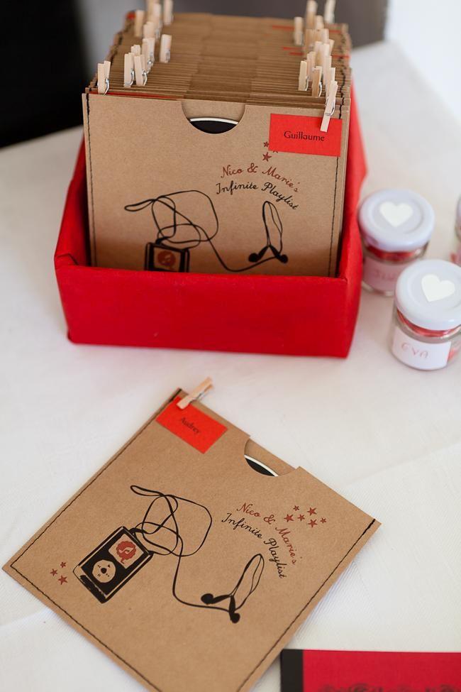 Un CD - Mariage: 14 idées pour les cadeaux d'invités