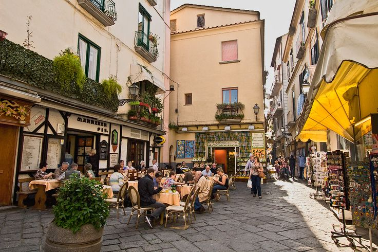 Piazza in Sorrento Italy