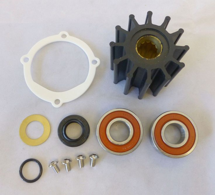 Johnson Sea Water Pump Repair & Impeller Kit 09-812B-1  F6B-9 10-24232-1 18-3089