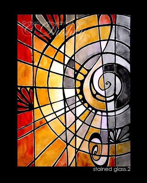 stained glass 2 by dushky.deviantart.com on @deviantART