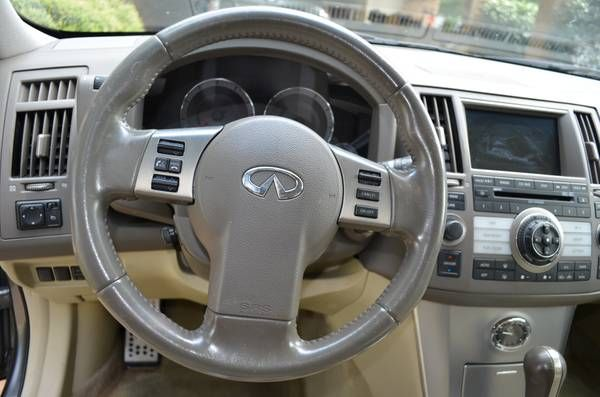 make infiniti model fx35 year 2008 exterior color gray interior color tan vehicle condition. Black Bedroom Furniture Sets. Home Design Ideas