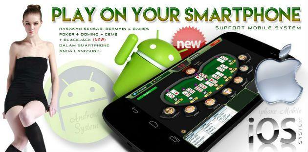 Permainan domino sudah bisa dilakukan secara mobile dengan android. Agen domino online sediakan aplikasi domino mobile di handphone atau gadget