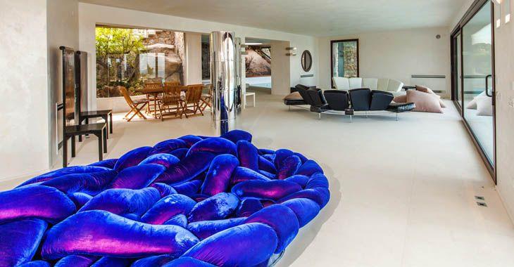 Villa Larea, located in Porto Cervo, Sardinia.  www.homeinitaly.com #LuxuryVillasInItalyForRent #luxury #villas in #Italy. Your #fabulous #Italian #vacation