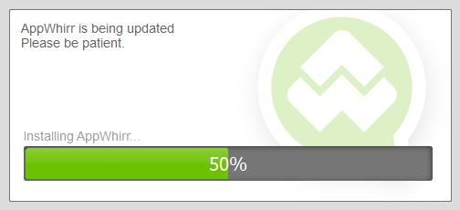 New AppWhirr updater.
