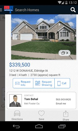 "THIS APP FEATURES PROPERTIES FROM THE QUAD CITIES IOWA AND ILLINOIS AREA<p>Download the Mel Foster Co. Mobile App and discover new search options and filters, making it easier and faster than ever to search for homes.  App offers best in class mapping, larger photos, the new ""Foster Finder"" to see all homes for sale using radar display from your current location.  The only app you'll need for all real estate information!  http://Mobogenie.com"