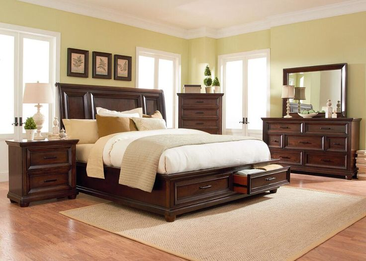 The Napa King #Bedroom Set Is Simple Yet Elegant And Will Never Go Out Of
