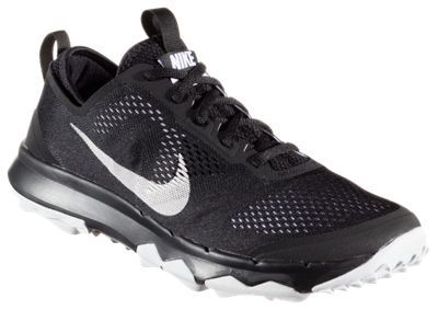 "Nike FI Bermuda Golf Shoes for Men - Black/White/White - 10.5M: """"""Nike FI Bermuda Golf Shoes for men provide… #Outdoors #OutdoorsSupplies"